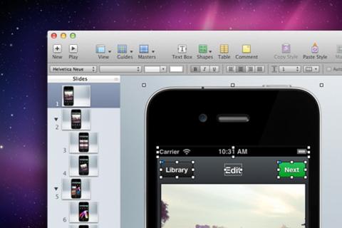 Designing UI in Keynote (Not in Photoshop) | Schedule | sxsw com