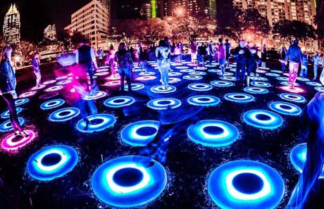 Amazing Eco Light Garden Aaron Rogosin Great Pictures