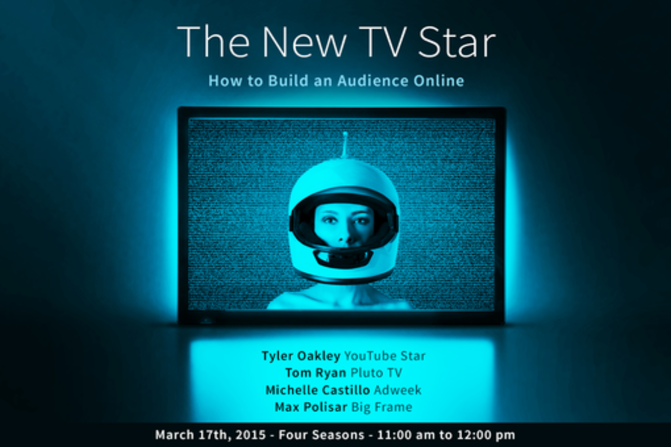 the new tv star how to build an audience online sxsw 2015 event